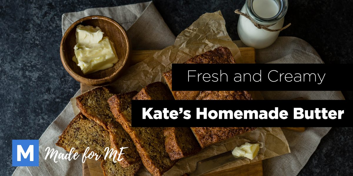 Fresh and Creamy Kate's Homemade Butter