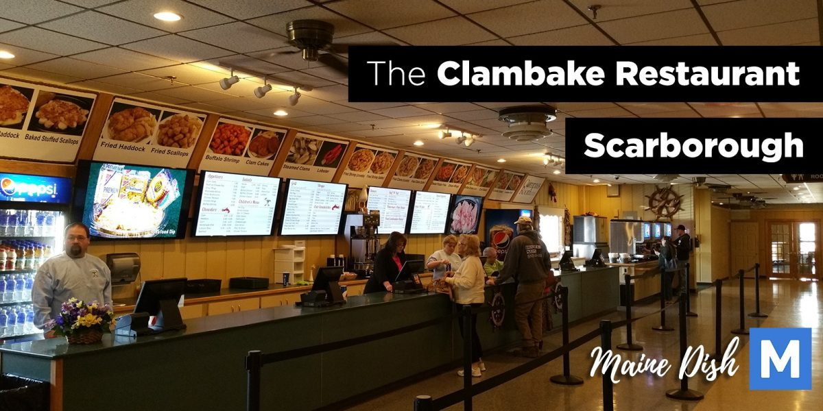 Lunch at the Clambake Restaurant